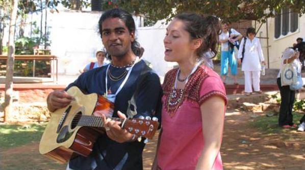 satsang in india ashram